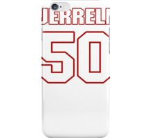 NFL Player Jerrell Freeman fifty 50 iPhone Case/Skin