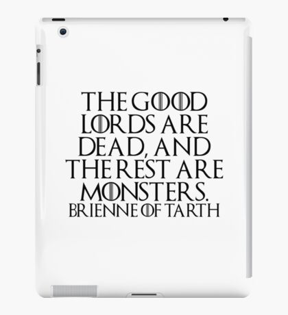The good lords... (Game of Thrones) iPad Case/Skin