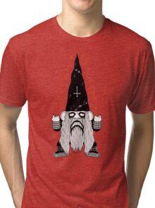 Black Metal Gnomo Tri-blend T-Shirt