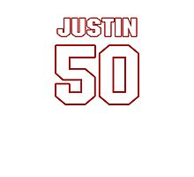 NFL Player Justin Houston fifty 50 Photographic Print