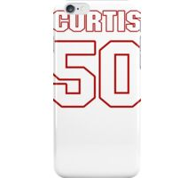 NFL Player Curtis Lofton fifty 50 iPhone Case/Skin