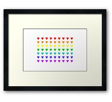 Love Is All Around I Framed Print