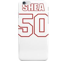NFL Player Shea McClellin fifty 50 iPhone Case/Skin