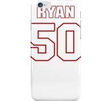 NFL Player Ryan Shazier fifty 50 iPhone Case/Skin