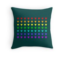 Love Is All Around III Throw Pillow