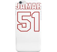 NFL Player Jamar Chaney fiftyone 51 iPhone Case/Skin