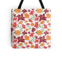 The Fire Lilies Tote Bag