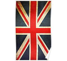 Vintage Union Jack British Flag Poster