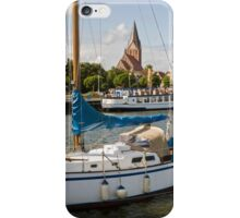 Barth Harbour, Mecklenburg Western Pomerania, Germany. iPhone Case/Skin