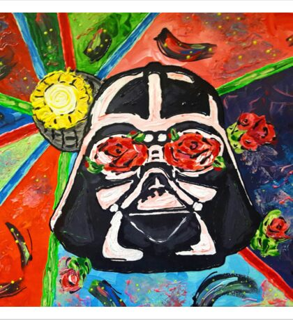 Darth Flower Sticker