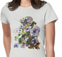 COSMIC FLOWERS Womens Fitted T-Shirt