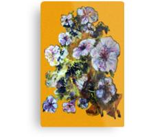 COSMIC FLOWERS Metal Print