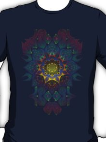 Psychedelic Fractal Manipulation Pattern T-Shirt