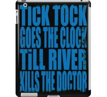 The Doctor's Song (BLUE) iPad Case/Skin