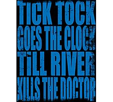 The Doctor's Song (BLUE) Photographic Print