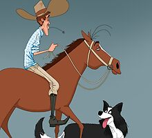 Cowboy by Alfonso Rosso