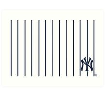 ny-new york yankees Art Print