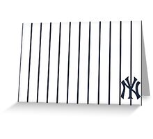 ny-new york yankees Greeting Card