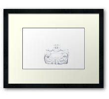 True Buddha Framed Print