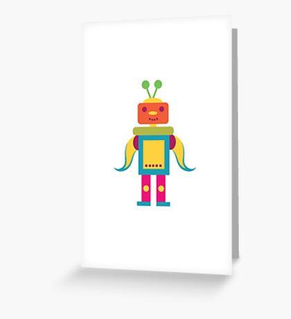 MY ROBOT FRIEND - 6 Greeting Card