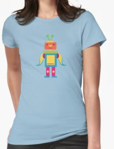 MY ROBOT FRIEND - 6 Womens Fitted T-Shirt