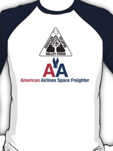 American Airlines Space Freighter Valley Forge T-Shirt
