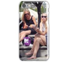 Lunch in the Park iPhone Case/Skin