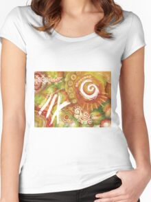 Sun Storm in December Women's Fitted Scoop T-Shirt