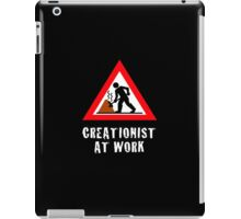 Creationist at Work (Dark/Custom) iPad Case/Skin