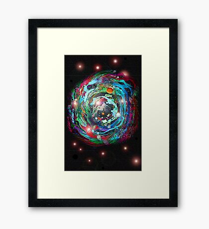 Psychedelic SPACE... 2 Framed Print