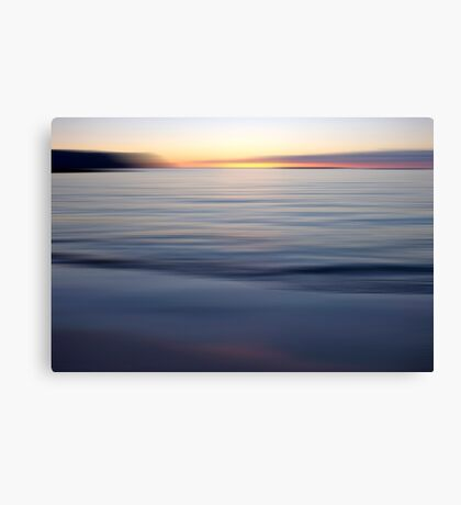 Long Exposure Sunset Art Prints and Poster Canvas Print