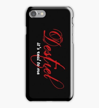 Destiel is real to me phone case iPhone Case/Skin