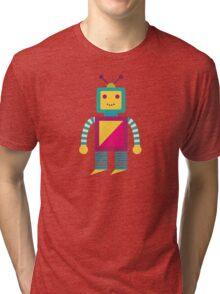 MY ROBOT FRIEND - 7 Tri-blend T-Shirt