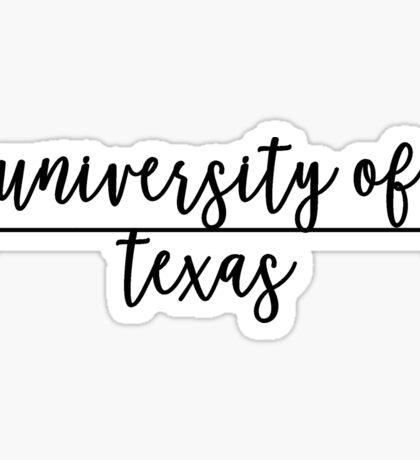 University of Texas Sticker