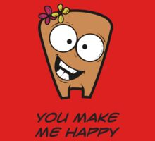 YOU MAKE ME HAPPY One Piece - Short Sleeve