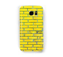 Yellow bricks Samsung Galaxy Case/Skin