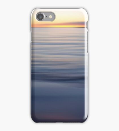Long Exposure Sunset Art Prints and Poster iPhone Case/Skin