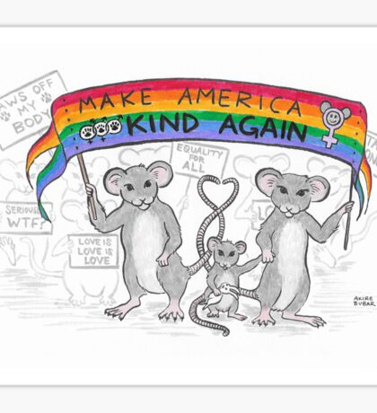 Make America Kind Again Sticker