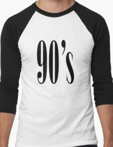 90 Men's Baseball ¾ T-Shirt