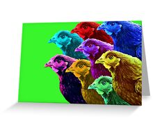 Chick fever III Greeting Card