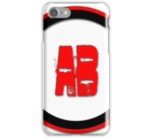 AB- = blood type iPhone Case/Skin