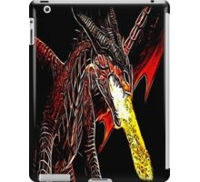 Toothless Fire Breathing Night Fury Fractal Dragon Design iPad Case/Skin