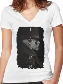 Taboo Tom Hardy BBC Women's Fitted V-Neck T-Shirt