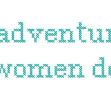 GIRLS. All adventurous women do Sticker