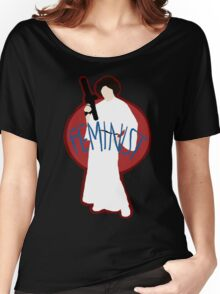 Princess Leia - Space Feminist  Women's Relaxed Fit T-Shirt