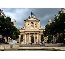 Chapelle de la Sorbonne Photographic Print
