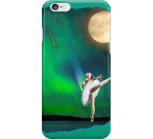 Aurora ballerina in the moon light iPhone Case/Skin