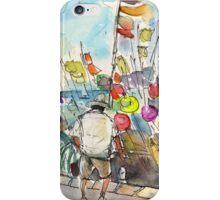 Peniscola Harbour 02 iPhone Case/Skin