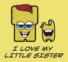 I LOVE MY LITTLE SISTER One Piece - Short Sleeve