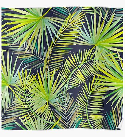 Palm Leaves #2 Poster